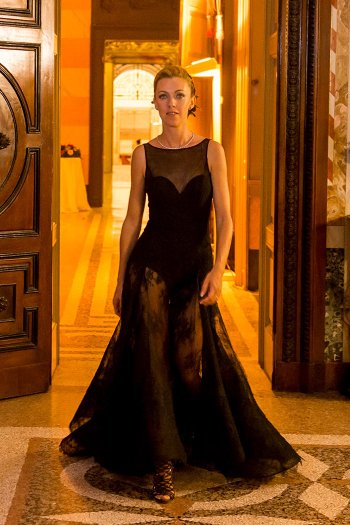 Abito Party dress cerimonia sposa annagemma lascari milano