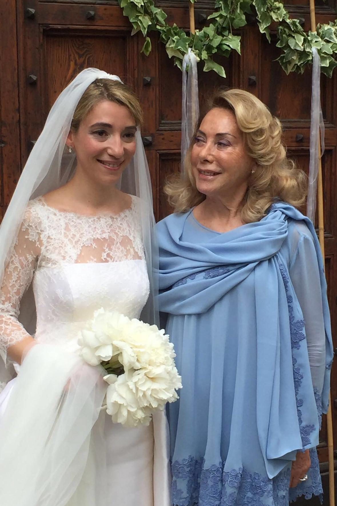 Mamma della sposa e sposa Annagemma Lascari Milano