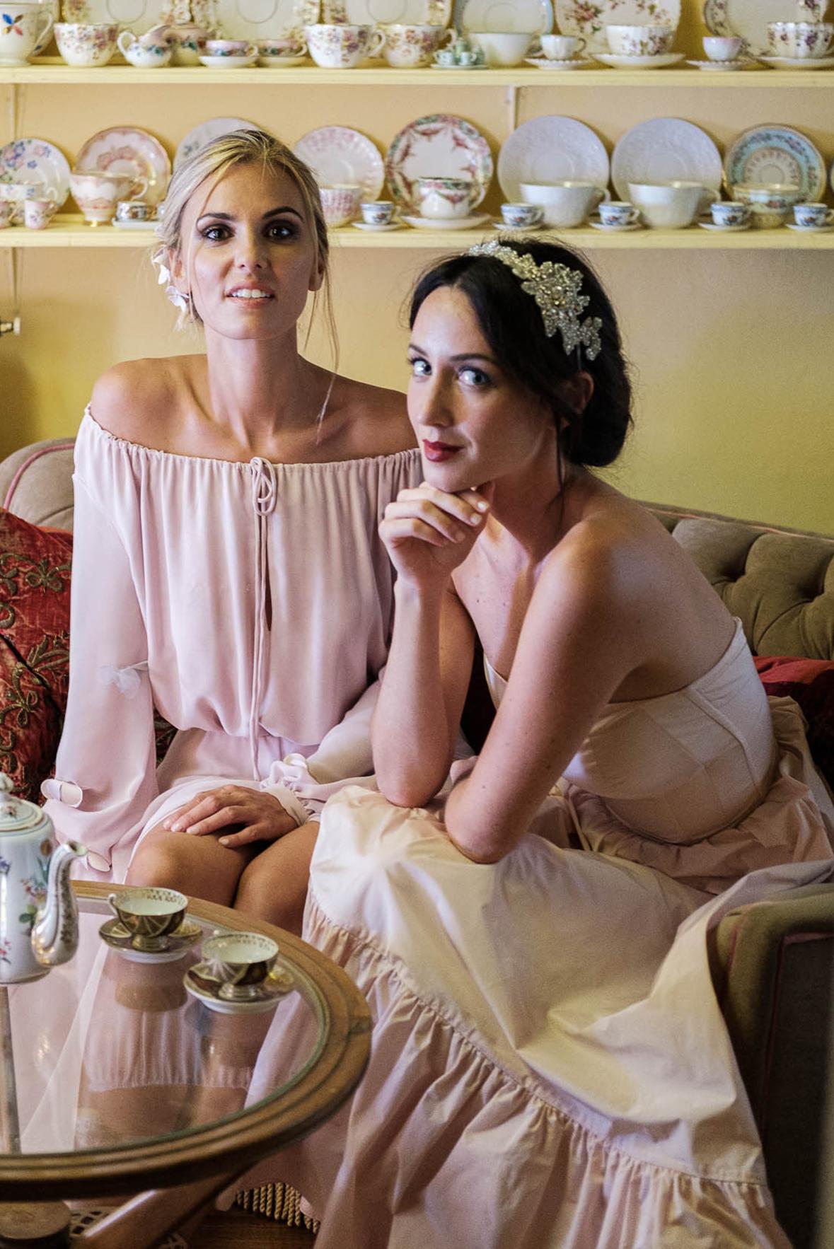 abito di cerimonia per le amiche della sposa