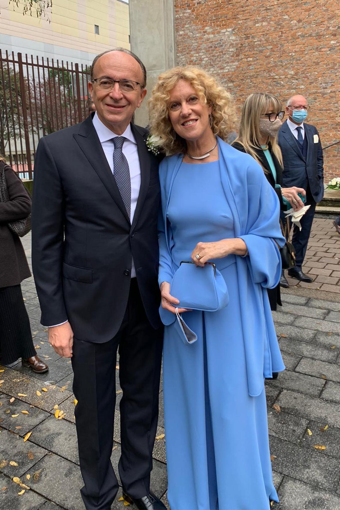Abito da Cerimonia per la mamma dello sposo Annagemma Lascari Milano