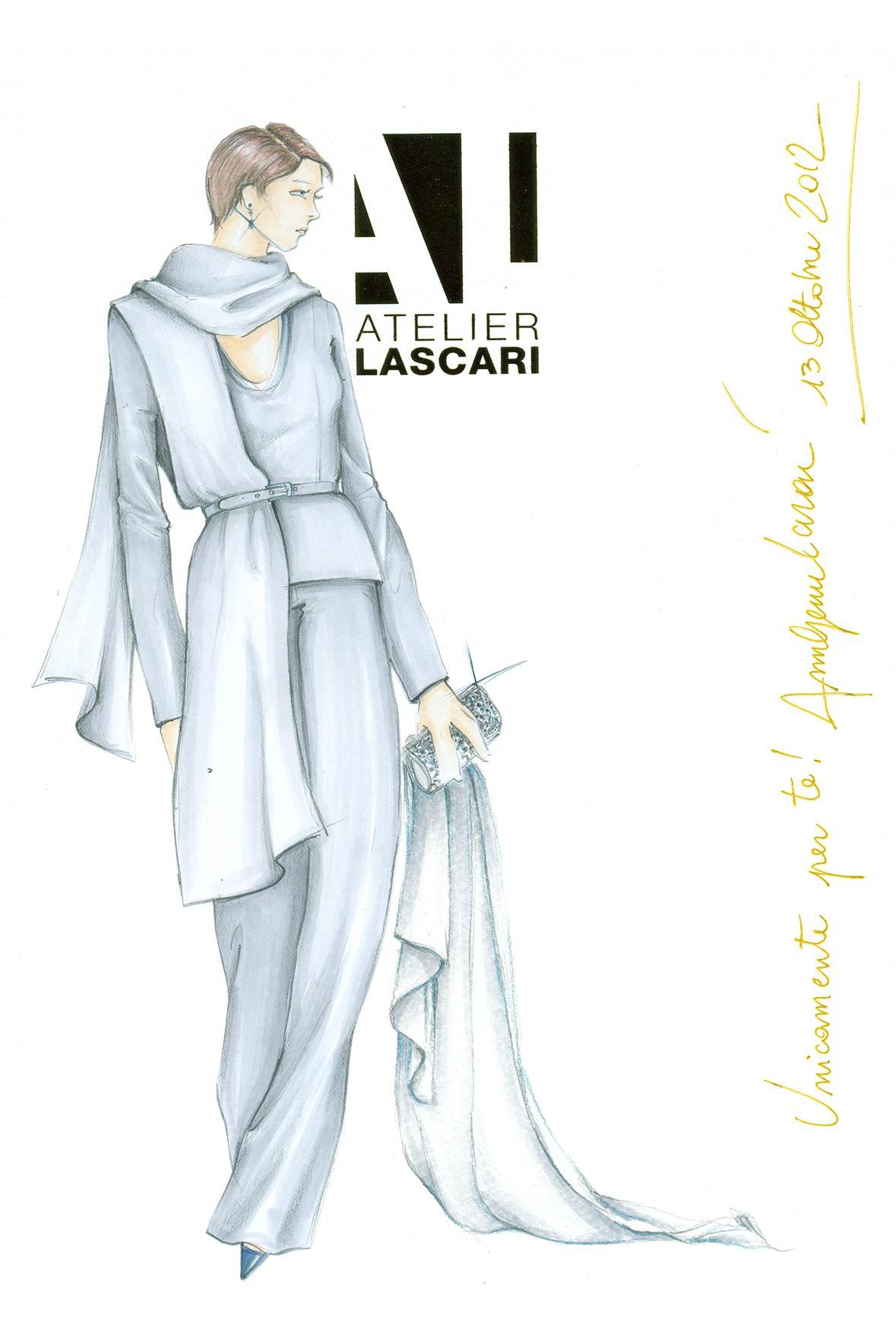 Abito per la mamma della sposa Annagemma Lascari Milano