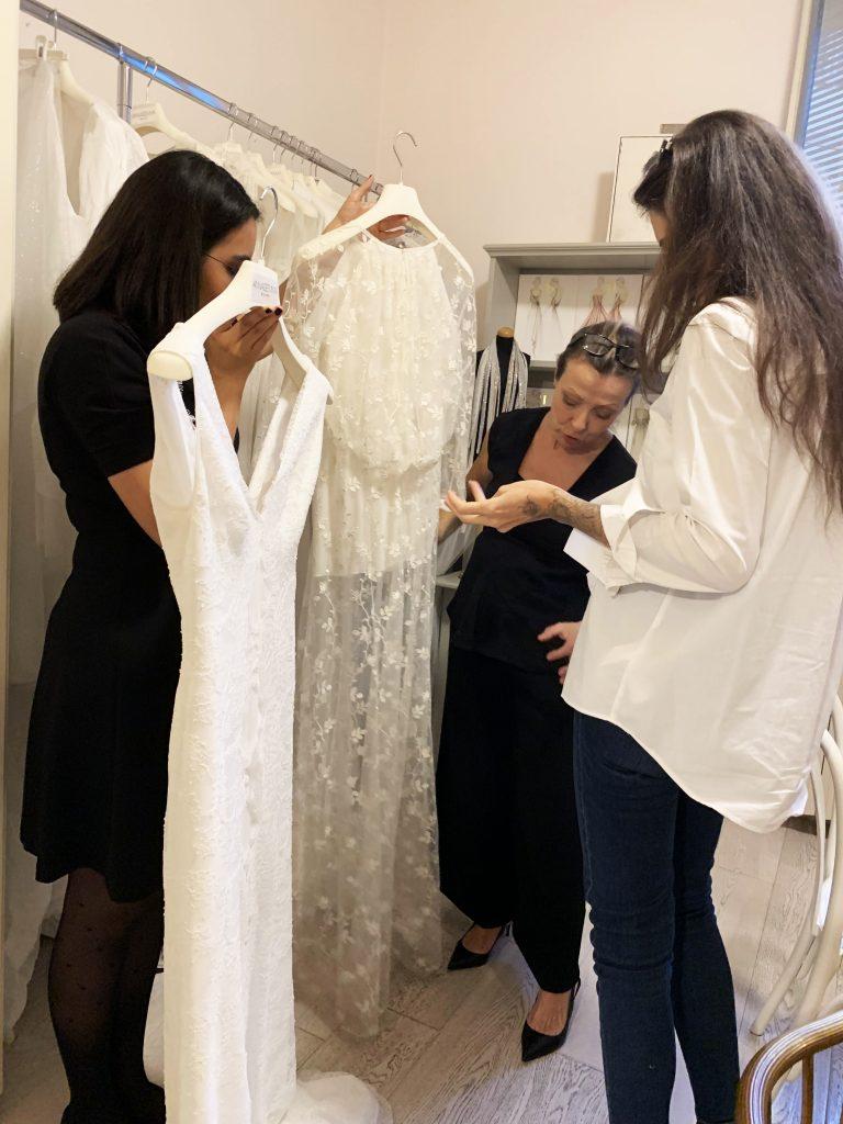 Come scegliere l'abito da sposa Atelier Lascari