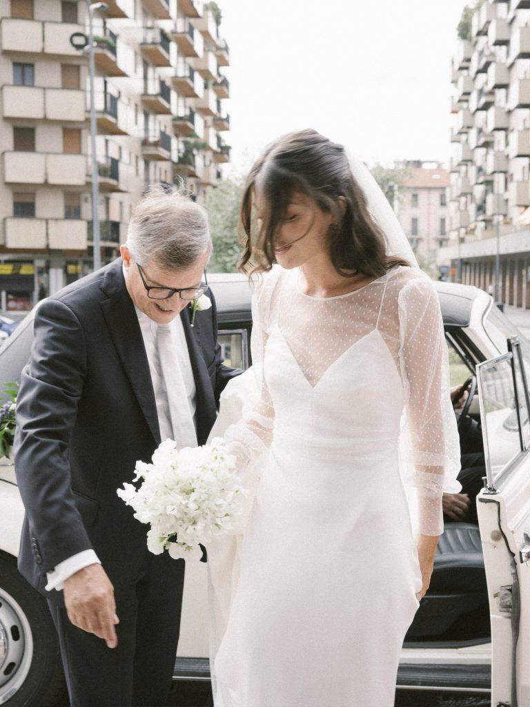 Matrimonio in tempo di crisi _ Abito da Sposa Annagemma Lascari Milano